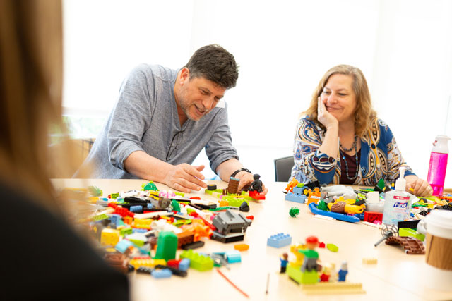 Vision workshop with LEGO® SERIOUS PLAY® in the San Francisco Bay Area